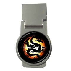 Dragon Fire Monster Creature Money Clips (Round)