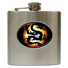 Dragon Fire Monster Creature Hip Flask (6 Oz)