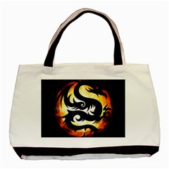 Dragon Fire Monster Creature Basic Tote Bag (Two Sides)