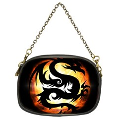 Dragon Fire Monster Creature Chain Purses (Two Sides)