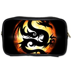 Dragon Fire Monster Creature Toiletries Bags
