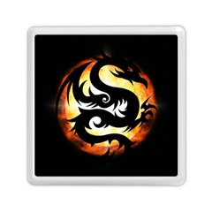 Dragon Fire Monster Creature Memory Card Reader (Square)