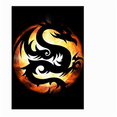 Dragon Fire Monster Creature Large Garden Flag (Two Sides)