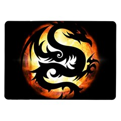 Dragon Fire Monster Creature Samsung Galaxy Tab 10.1  P7500 Flip Case