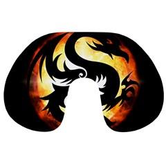 Dragon Fire Monster Creature Travel Neck Pillows