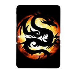 Dragon Fire Monster Creature Samsung Galaxy Tab 2 (10 1 ) P5100 Hardshell Case