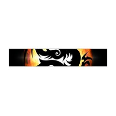Dragon Fire Monster Creature Flano Scarf (mini)