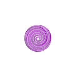 Digital Purple Party Pattern 1  Mini Magnets