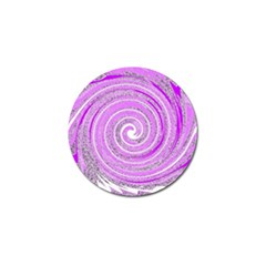 Digital Purple Party Pattern Golf Ball Marker (4 pack)
