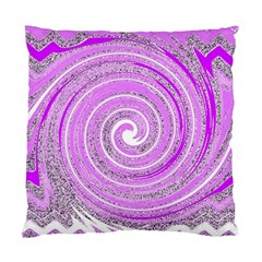 Digital Purple Party Pattern Standard Cushion Case (Two Sides)