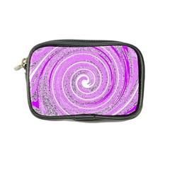 Digital Purple Party Pattern Coin Purse