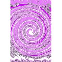 Digital Purple Party Pattern 5.5  x 8.5  Notebooks