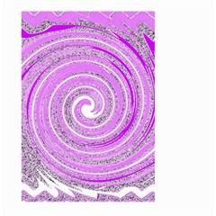 Digital Purple Party Pattern Large Garden Flag (Two Sides)