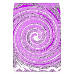 Digital Purple Party Pattern Flap Covers (S)