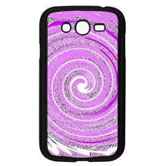 Digital Purple Party Pattern Samsung Galaxy Grand Duos I9082 Case (black)