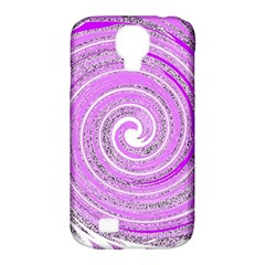Digital Purple Party Pattern Samsung Galaxy S4 Classic Hardshell Case (pc+silicone)