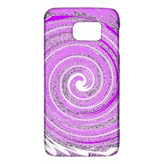 Digital Purple Party Pattern Galaxy S6