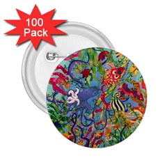 Dubai Abstract Art 2.25  Buttons (100 pack)