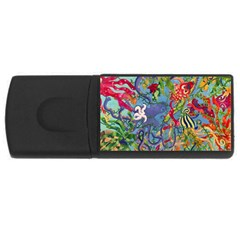 Dubai Abstract Art USB Flash Drive Rectangular (2 GB)