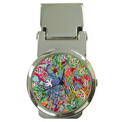 Dubai Abstract Art Money Clip Watches