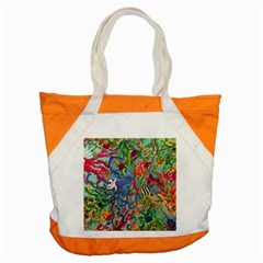 Dubai Abstract Art Accent Tote Bag