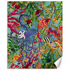 Dubai Abstract Art Canvas 16  x 20