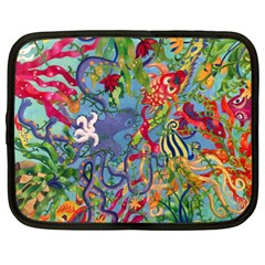 Dubai Abstract Art Netbook Case (XXL)