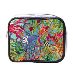 Dubai Abstract Art Mini Toiletries Bags