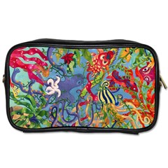 Dubai Abstract Art Toiletries Bags 2-Side