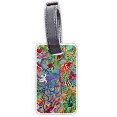 Dubai Abstract Art Luggage Tags (Two Sides)