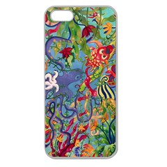 Dubai Abstract Art Apple Seamless Iphone 5 Case (clear)
