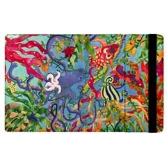 Dubai Abstract Art Apple iPad 2 Flip Case