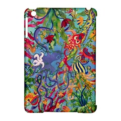 Dubai Abstract Art Apple iPad Mini Hardshell Case (Compatible with Smart Cover)