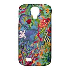 Dubai Abstract Art Samsung Galaxy S4 Classic Hardshell Case (pc+silicone)