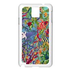 Dubai Abstract Art Samsung Galaxy Note 3 N9005 Case (White)