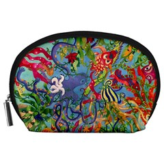 Dubai Abstract Art Accessory Pouches (large)