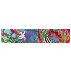 Dubai Abstract Art Flano Scarf (Small)