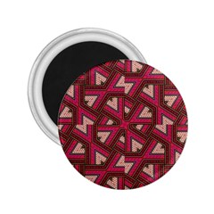 Digital Raspberry Pink Colorful 2.25  Magnets