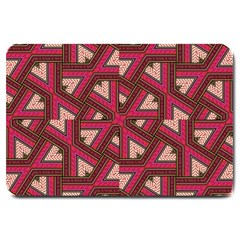 Digital Raspberry Pink Colorful Large Doormat