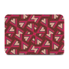 Digital Raspberry Pink Colorful Plate Mats