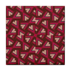 Digital Raspberry Pink Colorful Face Towel