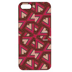 Digital Raspberry Pink Colorful Apple iPhone 5 Hardshell Case with Stand