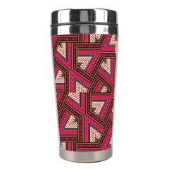 Digital Raspberry Pink Colorful Stainless Steel Travel Tumblers