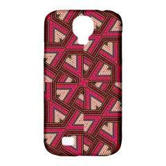 Digital Raspberry Pink Colorful Samsung Galaxy S4 Classic Hardshell Case (PC+Silicone)