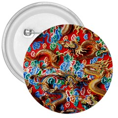 Dragons China Thailand Ornament 3  Buttons
