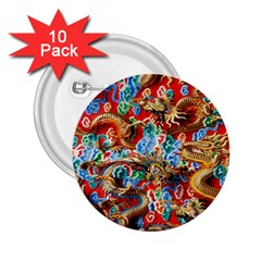 Dragons China Thailand Ornament 2.25  Buttons (10 pack)
