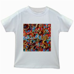Dragons China Thailand Ornament Kids White T-Shirts