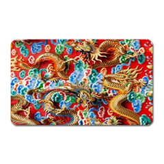 Dragons China Thailand Ornament Magnet (Rectangular)