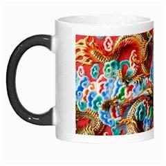 Dragons China Thailand Ornament Morph Mugs