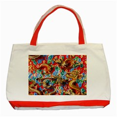 Dragons China Thailand Ornament Classic Tote Bag (Red)
